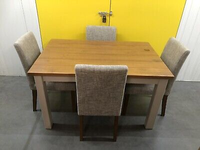 £450 • Buy Next Hartford Dining Table With Drawer & 4 Chairs Delivery Available 🚚