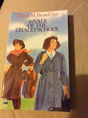£16 • Buy Rivals Of The Chalet School By Elinor M. Brent-Dyer - Rare 1988 Armada Edition