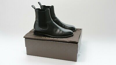 £100 • Buy Mens Vintage Gucci Black Leather Chelsea Boots Uk 7 Original Box And Dustbag