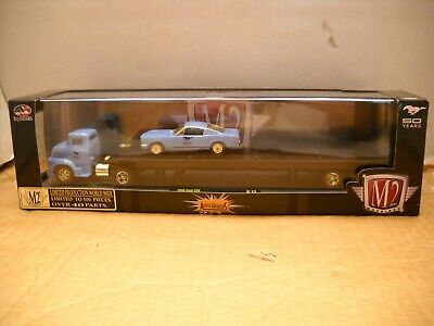 $50 • Buy M2 Machines Auto Haulers 500 Piece Chase 1956 Ford COE 1966 Mustang GT Fastback