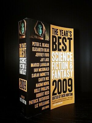 AU18.28 • Buy Best Science Fiction & Fantasy 2009 SIGNED By 10 Authors: Rothfuss, Mix, Bear