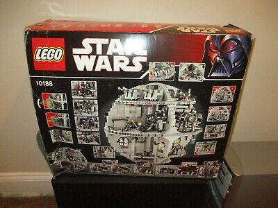 £49.57 • Buy Lego Star Wars 10188 Death Star In Box Most Pieces Present W/ Some Mini Figures