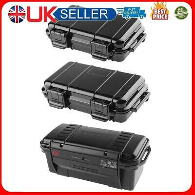 £6.39 • Buy Outdoor Shockproof Sealed Waterproof Safety Case ABS Plastic Tool Dry Box