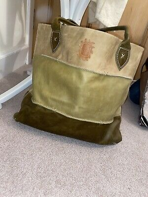 £5 • Buy Spirit Of Nature Leather Bag