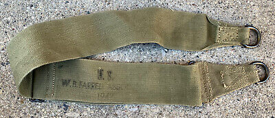 $19.99 • Buy Original WWII WW2 US Army Military M1936 Musette Bag Strap 1942 Dated