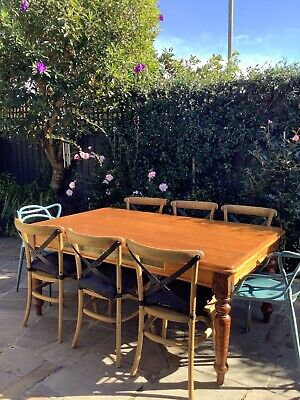 AU350 • Buy Timber Dining Table With Extension