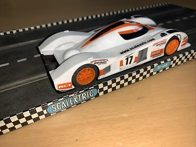 £14.99 • Buy Scalextric Hornby Le Mans MG Lola White Pilot Racing #17 Slot Racing Car 1:32