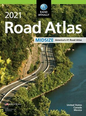 £8.55 • Buy 2021 USA Road Atlas Easy Finder Large Scale Travel Maps Paperback Rand Mcnally