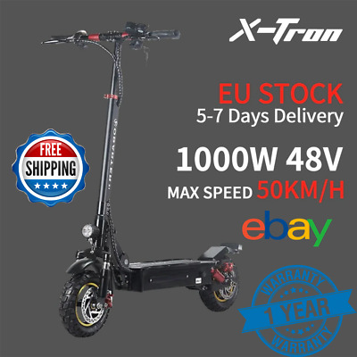 £1026.59 • Buy Electric Scooter Powerful 1000W 10 Inch E Scooter Adult 22AH 52V Free 1set Tools