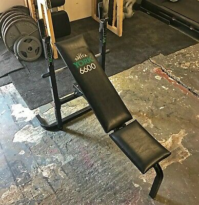 £0.99 • Buy York 6600 Weight Lifting Body Building Weights Bench
