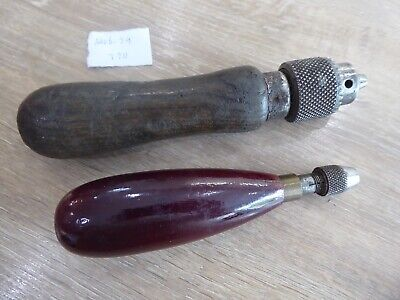 $ CDN17.14 • Buy 2 Vintage Watchmakers Hand Tools Converted Jacobs Drill Chuck