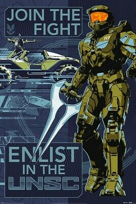 £7.75 • Buy Halo Poster Infinite Join The Fight Maxi 61x91.5cm