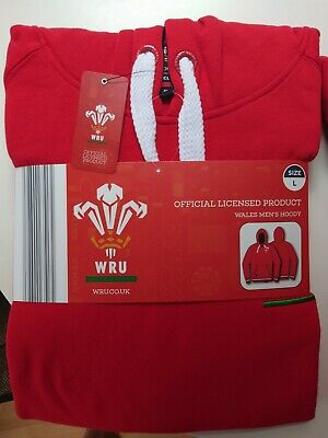 £17.99 • Buy Welsh Rugby Union Hoodie (Large) - Official WRU Product - New With Tags