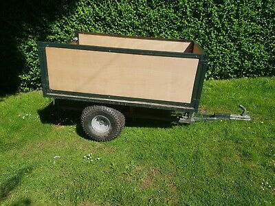 £82 • Buy Quad Trailer Compact Tractor Trailer