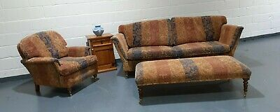 £600 • Buy Duresta Large 3 To 4 Seater Sofa And Armchair + Footstool