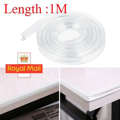 £3.29 • Buy 1/2M Child Baby Table Corner Edge Strip Protector Safe Guard Protection Cover U