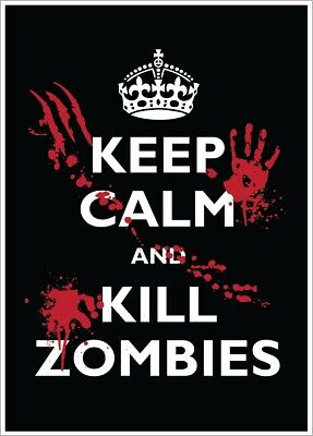 £6.75 • Buy Poster Keep Calm And Kill Zombies 32x44cm