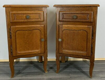 £129 • Buy Amazing Pair French  Bedside Tables Cupboards Cabinets Louis XVI