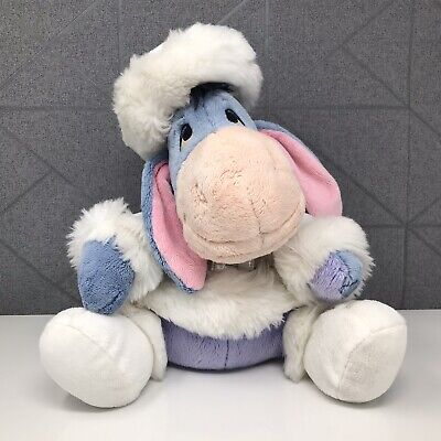 """£12 • Buy Disney Store Exclusive Eeyore Winter Outfit Stamped Plush Soft Toy 