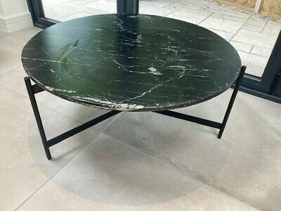 £180 • Buy Frank Hudson Gallery Direct Bari Marble Top Coffee Table