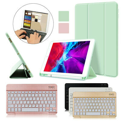 £17.49 • Buy Thin Smart Leather Case Cover + Wireless Keyboard For Apple IPad Air 4 10.9 2020