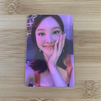 £4.95 • Buy Kpop Twice Official Taste Of Love Photocard Nayeon Photocard Alcohol Free