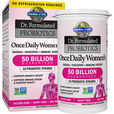 £22.49 • Buy Garden Of Life Probiotics Once Daily Women's Shelf-Stable 30 Capsules