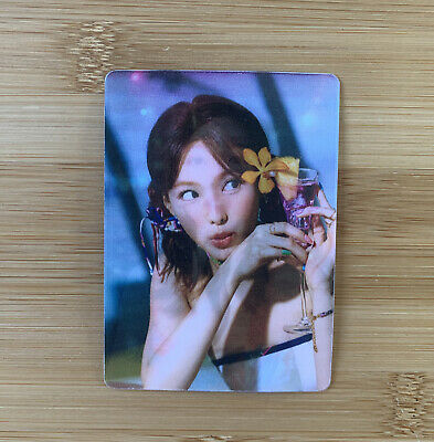 £5.95 • Buy Kpop Twice Official Taste Of Love Nayeon Photocard Lenticular Alcohol Free