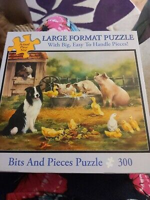 £4 • Buy Bits And Pieces Large 300 Jigsaw - Farmyard Friends