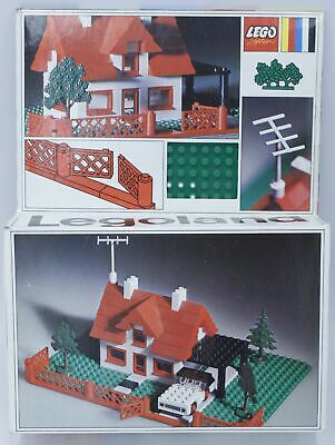 £23 • Buy Vintage Rare LEGO SYSTEM LEGOLAND Set Number 346 House Car And Trees BOXED - N19