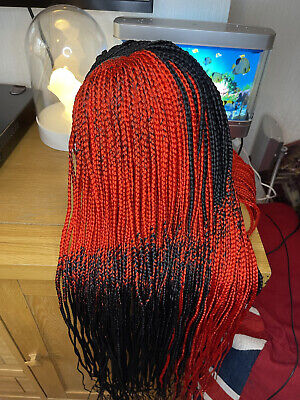 £40 • Buy Braided Wig With Human Hair Closure