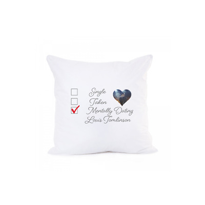 £13 • Buy Mentally Dating Louis Tomlinson 1D One Direction Pillow Case Cushion Cover Sofa