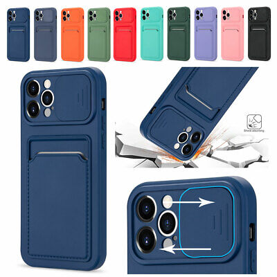 AU6.96 • Buy Card Holder Wallet Cover Phone Case For IPhone 12 11 Pro XR XS Max 8 7 6Plus SE2