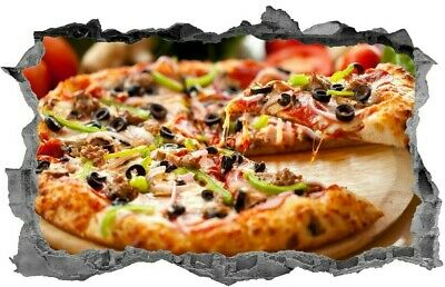 £3.99 • Buy Pizza,Sticker,Pizza Shop,Wall Art,Fast Food,Decal,Kitchen,Mural