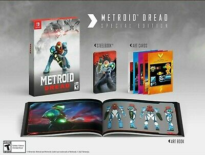 AU210 • Buy Nintendo Switch Metroid Dread Special Edition Preorder || FREE EXPRESS SHIPPING