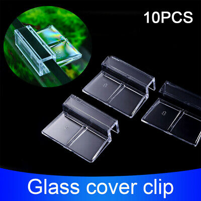 AU14.53 • Buy Fish Tank Home Accessories Glass Cover Clip Support Holder Stand Aquarium