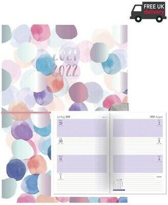 £4.69 • Buy 2021-2022 A5 Week To View Academic Diary Hardback Student Teacher - Office Diary