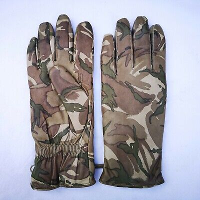 £14.99 • Buy Genuine British Army MTP Camouflage Leather Mkll Cold Weather Gloves