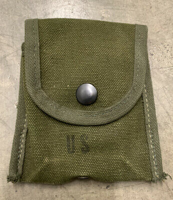 $19.99 • Buy NOS Original Vietnam Era US Army Military Issue M1956 Compass/ First Aid Pouch