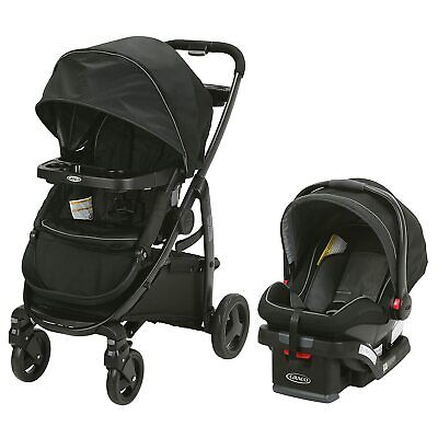 £203.61 • Buy Graco Modes2Grow Travel System In Dayton W/ Snuglock 35 Infant Car Seat And Base