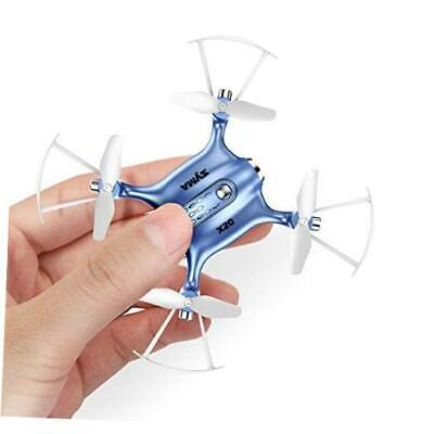 AU61.21 • Buy Mini Drones For Kids Or Adults, RC Drone Helicopter Toy, Easy Indoor Small Blue