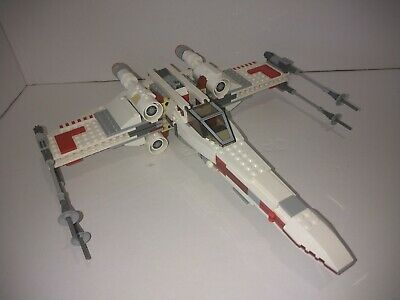£85 • Buy Rare 2012 Lego Star Wars X-wing Starfighter 9493 With Minifgures