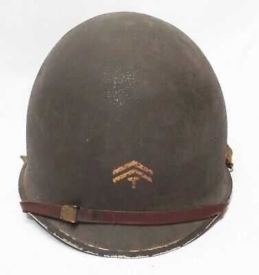 $1999.99 • Buy Old WWII U.S ARMY Military M1 HELMET 3rd Armored Division CORPORAL Tech COMPLETE