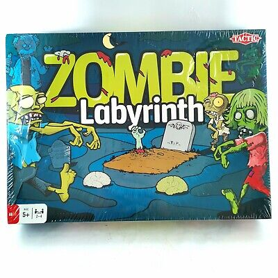 £12.50 • Buy Zombie Labyrinth Family Game 2 - 4 Players - By Tactic