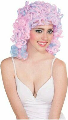 $9.99 • Buy Two-Tone Cotton Candy Costume Wig Adult: Pink, Multicolor, Size One Size PC6i