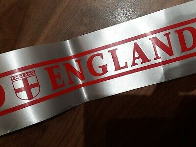 £3.98 • Buy England Euro 2021 Football Supporters 3  Approx 5 Meters Car Ribbon Flag