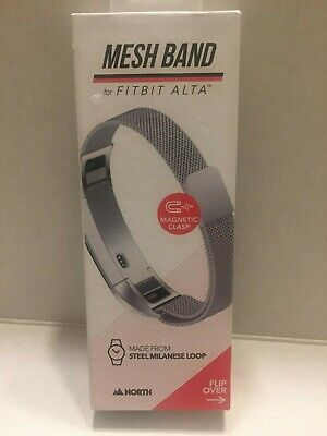AU15.97 • Buy New Fitbit Alta Steel Mesh Band With Magnetic Clasp