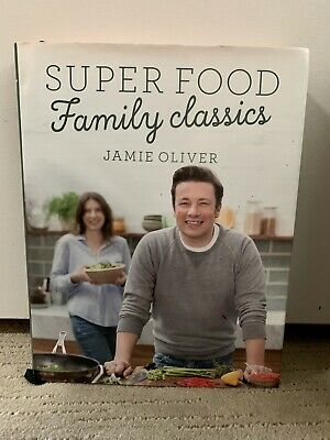 AU8 • Buy Super Food Family Classics By Jamie Oliver Hardback Easy Healthy Meals