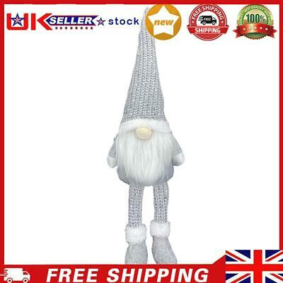 £6.37 • Buy Nordic Style Christmas Faceless Doll Ornament Home Desk Decorations (Grey)
