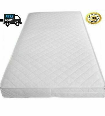 £58.99 • Buy Soft Breathable Baby Toddler Cot Bed Quilted & Waterproof Mattress All Sizes UK